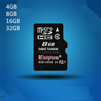 8GB Micro SD SDHC TF Karte SDC4/8GB Memory Card Phone Tablet Camera With packaging 4GB 16GB 32GB Free shipping