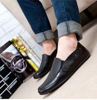 2014 new Dou men's shoes Leisure men's shoes Low shoes for driving shoes