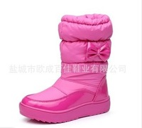 2013 New Child snow boots personality lobbing ball snow boots girls shoes winter boots