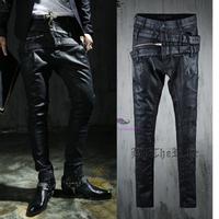 Free shipping! Diablo Peng Ke Gete new men's fashion jeans, rock and roll coating