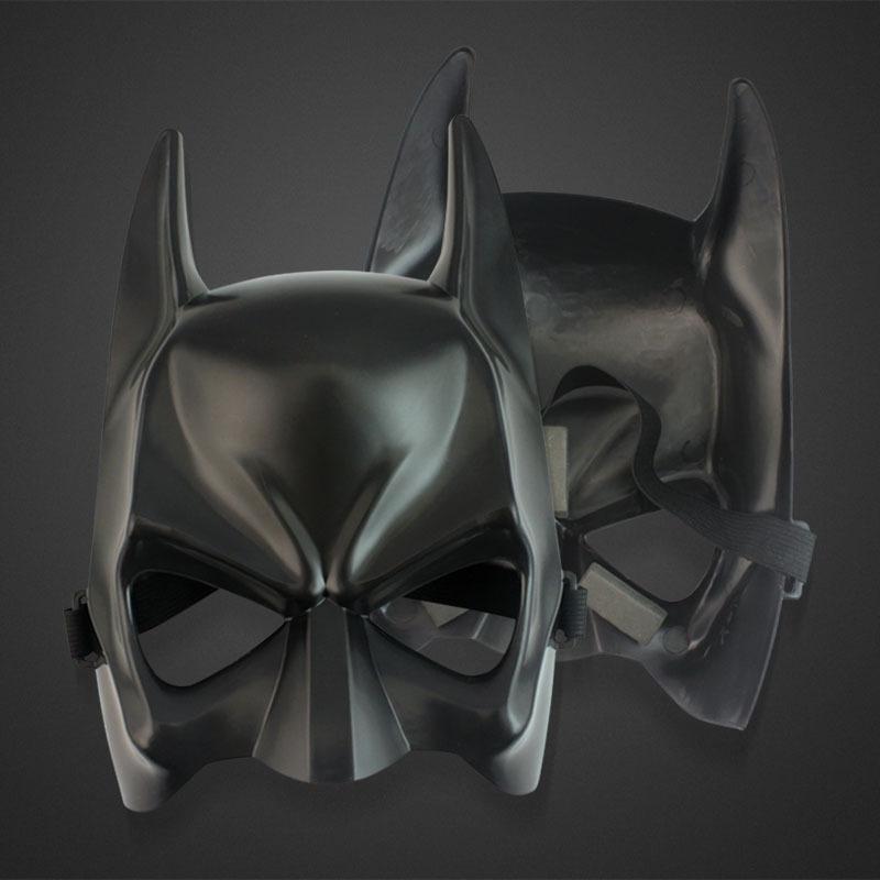 Top Fashion New Costume Party Masks Half Face Batman Mask Halloween Cartoon Masks,3pcs/lot Free Shipping(China (Mainland))