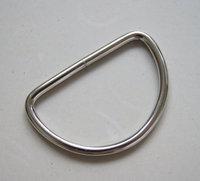 30 PIECES, 2 inch, nickel D Rings