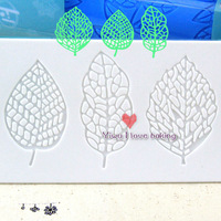 Sweet Three new leaves  design lace mat,cake design silicone mat,cake lace mat,cake decoration