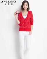 Spring 2014 new fashion women's knit sweater(freeshipping)
