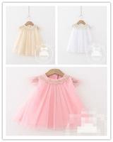 Top On Top wholesale 2014 girls Summer Meshwork new design dress Kid's  princess tulle princess dress