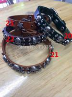 Free Shipping 50X Punk bracelet, Cool Rivet bangles, drop shipping