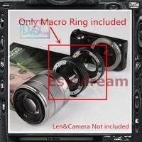 Metal Mount Electronic AF Auto Focus Macro Extension Ring Tube Set For Sony NEX3N NEX5T NEX6 NEX7 A6000 A5000 A5100 A3000 PR186