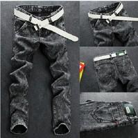 hot sale new fashionable men's slim fit jean pants