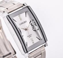 LONGBO New Casual Woman Waterproof Sports Watch Hot Sale Luxury Fashion Jewelry Brand Suppliers Steel Quartz