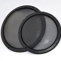 "6.5 inch Car Speaker Grill Car Speaker Grille 6.5"" speaker Cover Black Color High Quality Metal Cold-rolled steel+ABS Material"