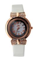 New 2014 Fashion Women leather strap watches quartz wristwatch dress watch flower design smart watch