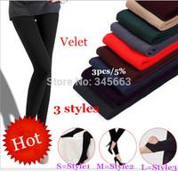 Wholesale 2014 Hot Leggings For Women Arrival Casual Warm Winter Faux Velvet Legging Knitted Thick Slim Pants Super Elasti