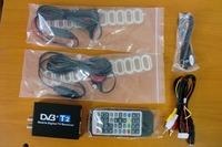 120km/h Double Antenna Car DVB T2 Mobile Digital TV Box External USB DVB-T2 Car TV Receiver Russian&Europe&Southeast Asia