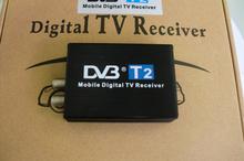 Car DVB T2 120km/h Double Antenna H.264 MPEG4 Mobile Digital TV Box External USB DVB-T2 Car TV Receiver Free shipping(China (Mainland))