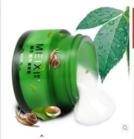 2014 new moisturizing whitening cream printed acne capillarie repair snail cream 4 pcs/lot