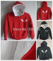 2014 children outerwear fleece warm clothing baby sports thick hooded jacket boys girl autumn Winter shampooers coat hoodies