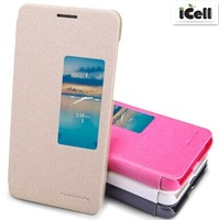 Original Nillkin Brand Sparkle Series Flip Leather Case For Huawei Honor 6 ,+Retail 10pcs/lot free shipping