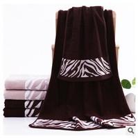 Free shipping, bamboo fiber bath towel towels combination packages, jacquard, environmental health, beach towels