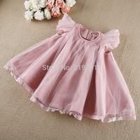 2014 Girls autumn lace cloaks dress , girl dress princess , kids clothing , 5pcs/lot   LYB05