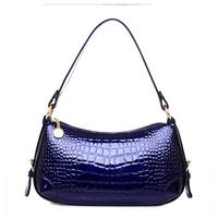 Genuine leather women's handbag fashion 2014 women's fashion handbag messenger bag for Crocodile leather bag