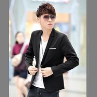 2014 new fall fashion trends Korean men's leisure suit jacket Slim suits