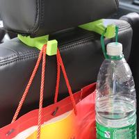 Supply color models car hooks car headrest hook lift rod hook Jushi creative green black