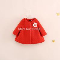 Wholesale ! Girls new flower coat , jacket for girls , children coat , 6pcs/lot    YS38