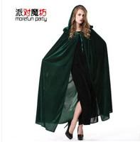 Free Shipping Halloween cloak cosplay masquerade party clothes cloak fairy mantissas clothing