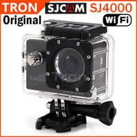 "Original SJCAM SJ4000 WiFi  HD Camera Camcorders Sport Camera for Gopro Waterproof Novatek 1.5"" 170 Degree Wide Angle CAR DVR"