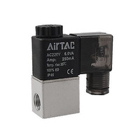 "FREE SHIPPING!Free  Shipping!AC 220V 1/2"" Inlet Outlet 2 Way 2 Position Air Solenoid Valve"