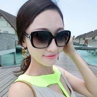 2014 Free shipping  women's sunglasses with BOX star style polarized anti-uv the trend sunglasses Women glasses