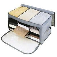 2014 New Household Clothing Organizer Bamboo Charcoal Storage Boxes Space-Saving Storage Box