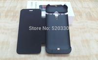 2014 Brand New 3200 mAh External Battery portable Backup Charger Case Pack Power Bank flip cover for MOTO G Motorola g black