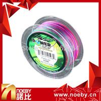 NOEBY Fishing Line PE 8 BRAID multicolour braided wire line 300m 3# 3.5# 4# 6# 7# 8# Braid Fishing Line