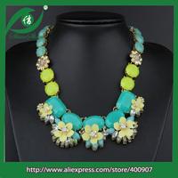 Statement necklace  pendant necklace