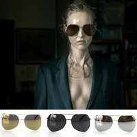 New Grey ant multilateral fashion men and women sunglasses personality style sunglasses 853-1
