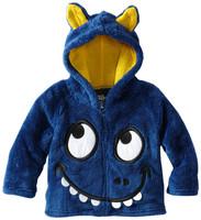 Animals kids coat Kind of animals pattern kids coat with cap Berber Fleece Withstand cold New arrive
