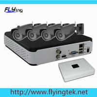 4CH 720P NVR CCTV System HDMI Motion Detect NVR 4pcs Wireless Bulllets HD IP WIFI Megapixel P2P Cameras DIY Kit Free Shipping