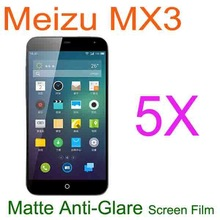5x Smart Phone Meizu MX3 Matte Anti-Glare Screen Protector.Android Phone Screen LCD Protective Film Case Guard For Meizu MX3