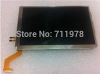 5pc/lot orignal new For Nintendo 3DS XL LL(3DSXL/LL) upper/top lcd screen display free shipping