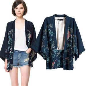 Women'S Satin Kimono Sleeve Blouses 62