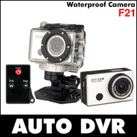 WDV5000 F21 Sport dv Action Camera With Built in WIFI Waterproof 50M Remote Control 5.0MP Full HD 1080P Copy style Go Pro hero 3