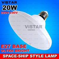 15W 20W LED bulb E27 220V LED lamp space ship style Warm white Cold white 32 SMD 5730 LED high quality free shipping