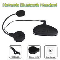 Full-duplex Wireless Bluetooth Motorcycle Intercom Helmet Headset Stereo Music Interphone Smooth Conversation For Driving
