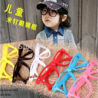 Baby decorative glasses male / female child stylish simplicity m nail glasses frame glasses children