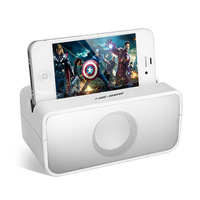 Hot New 2014 Portable Mini Wireless Induction Speakers Music Sound Box for iPhone4/4S/5/5S/5C Free Shipping