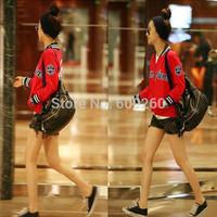 2014 New Arrvials Genuine Leather Fashion Women Quality Handbags Tassle Mental Leather Shoulder Bag For Women