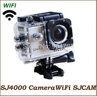 SJ4000 WIFI Action Camera SJCAM 100% Original Diving 30M Waterproof Wifi Sport Camera 1080P HD Sport DV Gopro style Video Camera