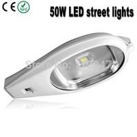 2pcs 50W led street light AC85-265V DC24V/12V 5000lm 50W outdoor street road ligthing available for solar system