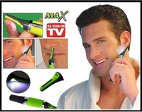 Wholesale !  Max All-in-one Personal Trimmer with LED Light, Hair Trimmer, Nose Ear Eyebrow Sideburns Trimmer 48pcs /lot